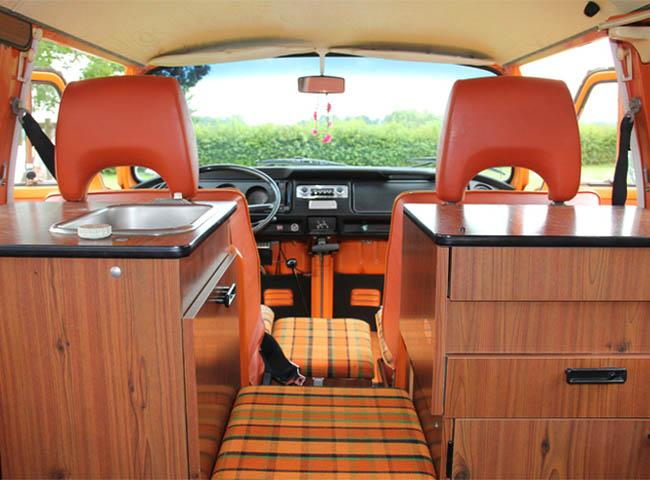 2 reisemobil spendenaktion der lebenshilfe gie en for Interieur westfalia t3