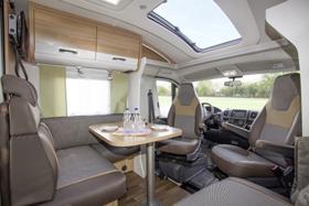Wohnmobile mit modernem, gemütlichem Ambiente